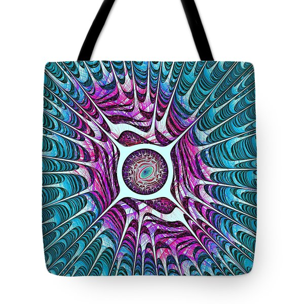 Water Dragon Eye Tote Bag by Anastasiya Malakhova