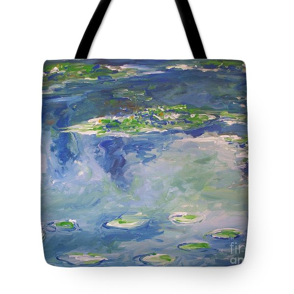 Water Lilies Giverny Tote Bag by Eric  Schiabor