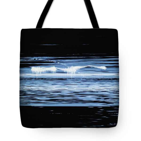 Water No. 2 Tote Bag by Nasser Studios