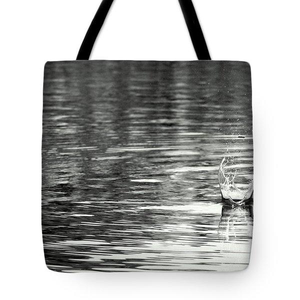 Water Tote Bag by Prajakta P