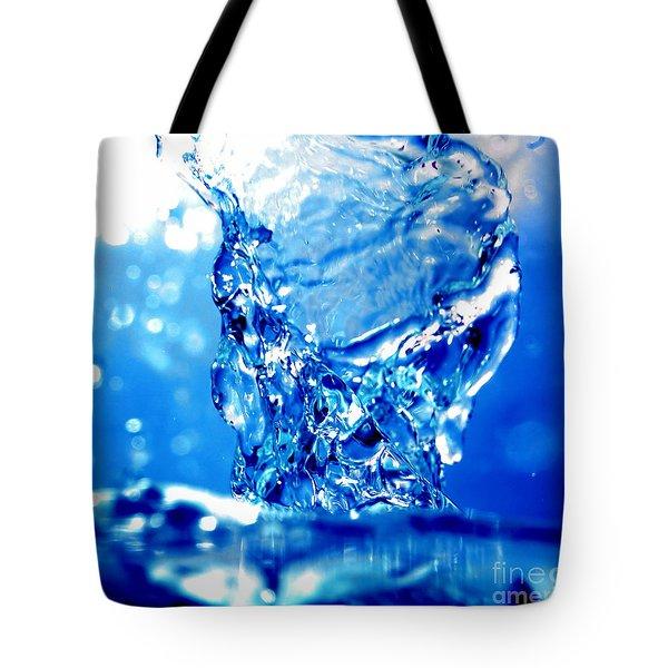 Water Refreshing Tote Bag by Michal Bednarek