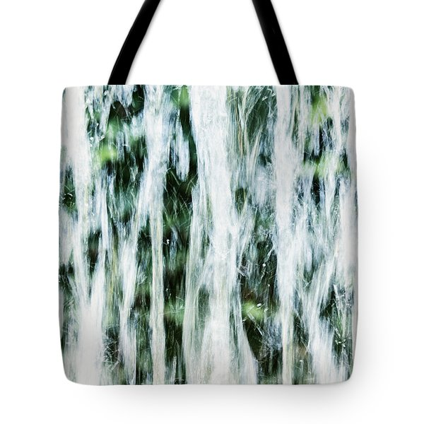 Water Spray Tote Bag by Margie Hurwich