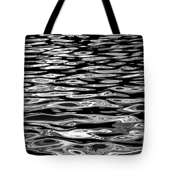 Water Surface Abstract Tote Bag by Elena Elisseeva