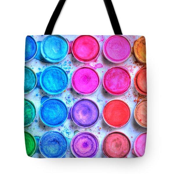 Watercolor Tote Bag by Heidi Smith