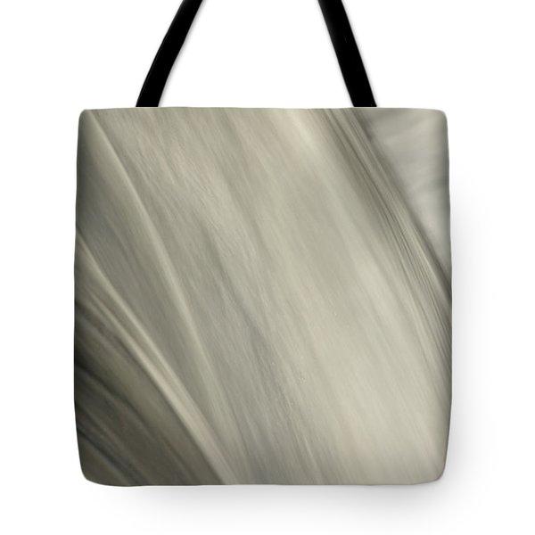 Waterfall Abstract Tote Bag by Karol Livote