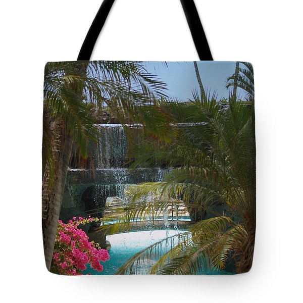 Waterfall Tote Bag by Athala Carole Bruckner