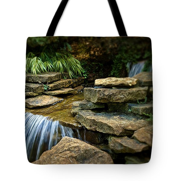 Waterfall Tote Bag by Tom Mc Nemar