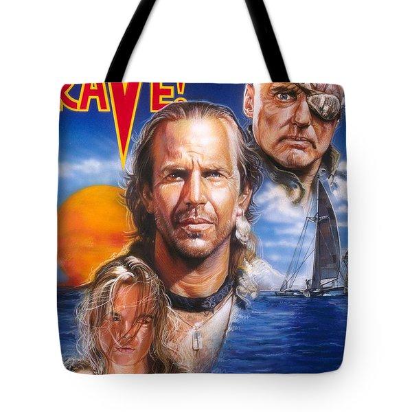 Waterworld Tote Bag by Tim  Scoggins