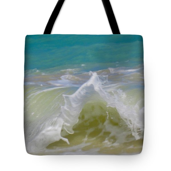 Wave 3 Tote Bag by Cheryl Young