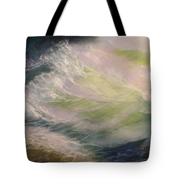 Wave Tote Bag by Elena Sokolova