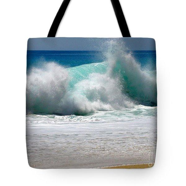 Wave Tote Bag by Karon Melillo DeVega