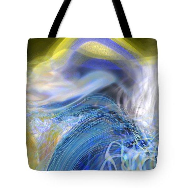Wave Theory Tote Bag by Richard Thomas