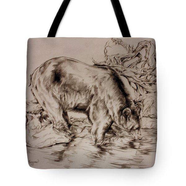 Waves Of Joy Tote Bag by Derrick Higgins