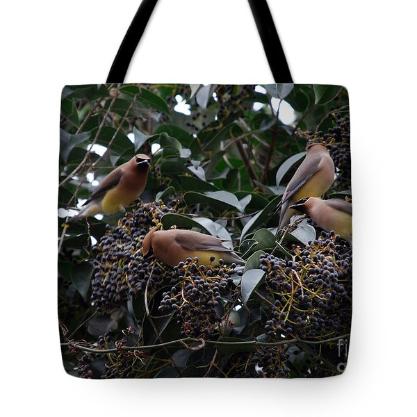 Wax Wings Supper  Tote Bag by Skip Willits