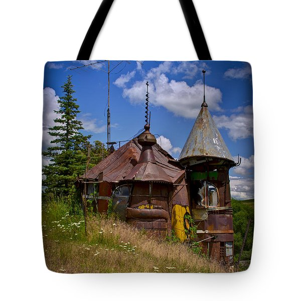 We Are Not In Kansas Anymore Tote Bag by David Patterson