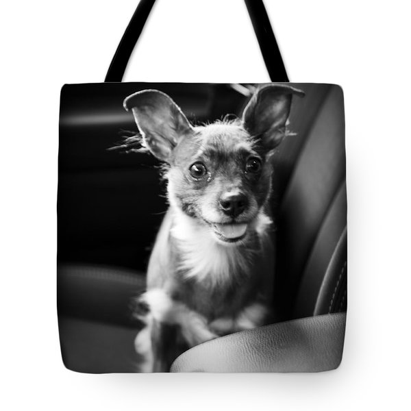 We Goin For A Ride Tote Bag by Edward Fielding