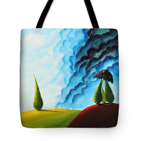 Weather Change Tote Bag by Nirdesha Munasinghe