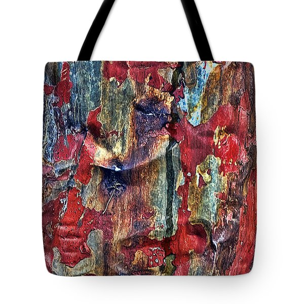 Weathered Tote Bag by Marcia Colelli