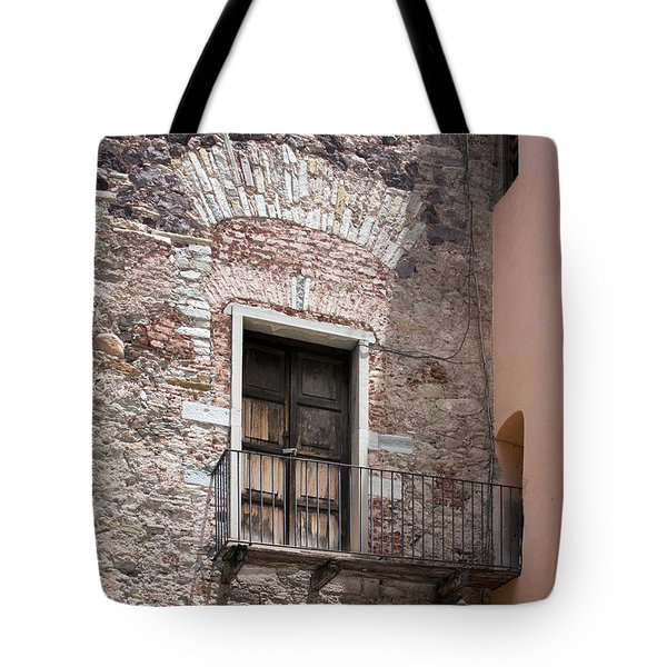 Weathered Wooden Church Doors Tote Bag by Lynn Palmer