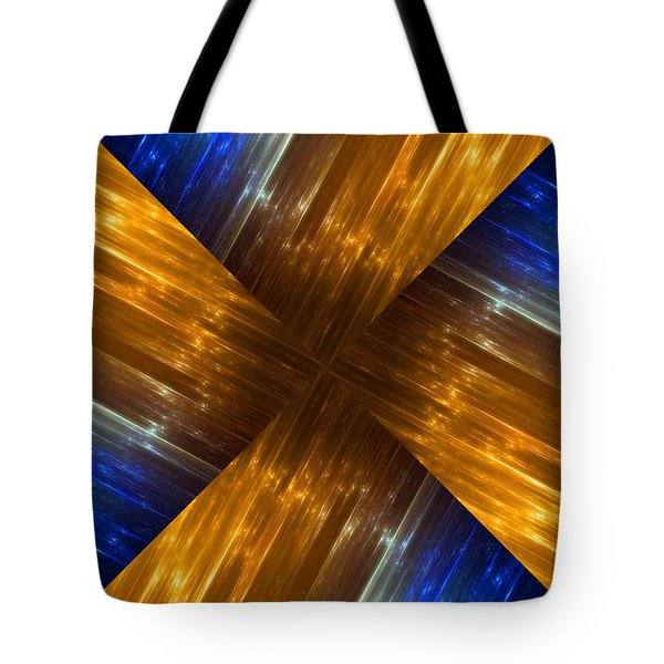 Weave Tote Bag by Cheryl Young