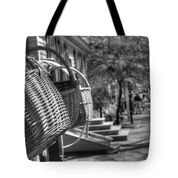 Weaving The Past Tote Bag by Greg and Chrystal Mimbs