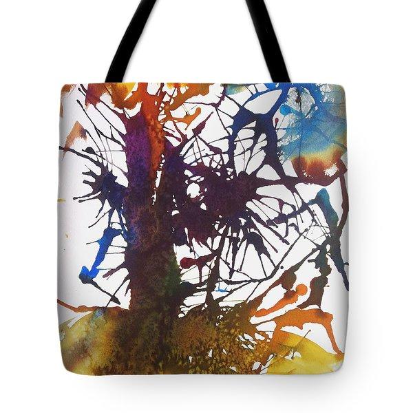 Web Of Life Tote Bag by Ellen Levinson