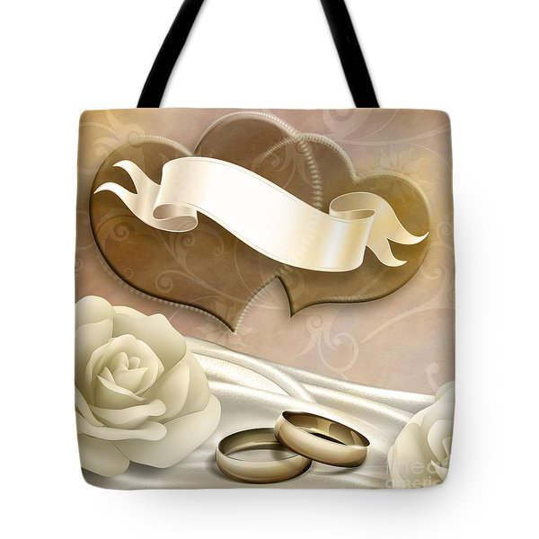 Wedding Memories V2 Sepia Tote Bag by Bedros Awak