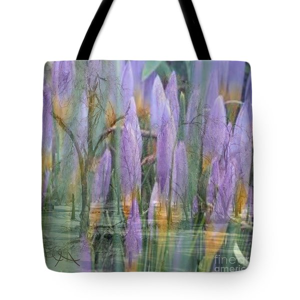 Weeping Flowers Tote Bag by PainterArtist FIN