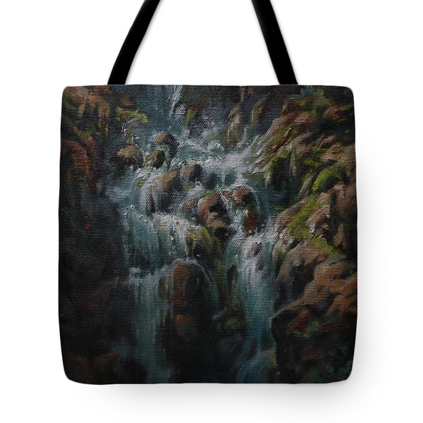 Weeping Rocks Tote Bag by Mia DeLode