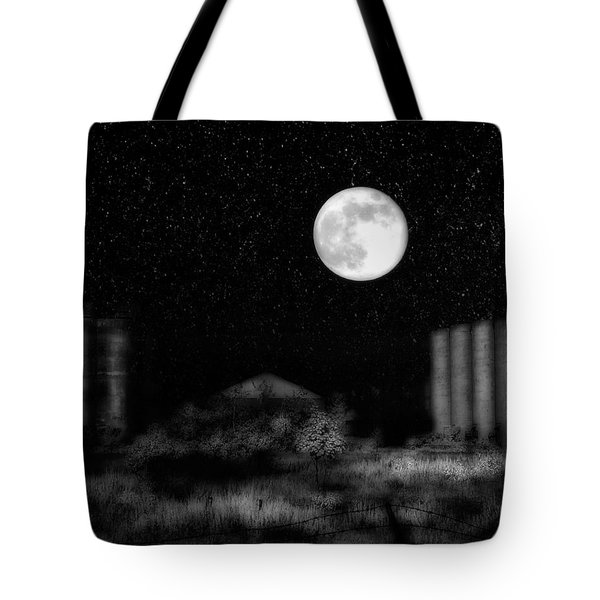 Weird Night Tote Bag by Gothicolors Donna Snyder