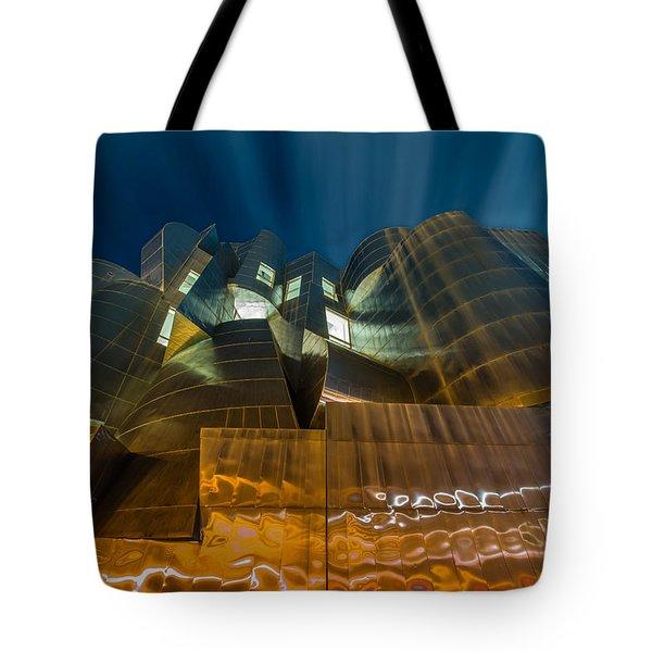 Weisman Art Museum Tote Bag by Mark Goodman