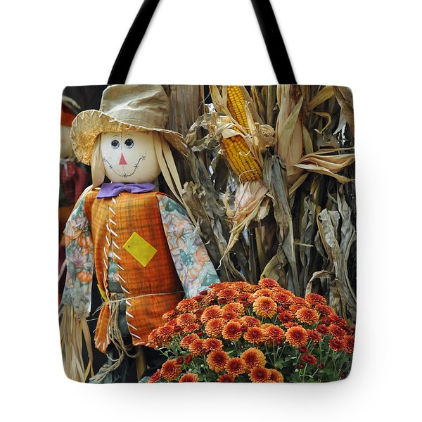 Welcome Fall Tote Bag by Kenny Francis