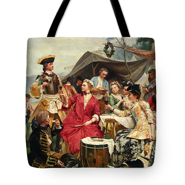 Welcome Tote Bag by Gustave Jean Jacquet