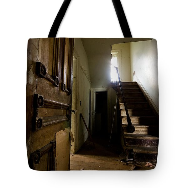 Welcome Home Tote Bag by Cale Best