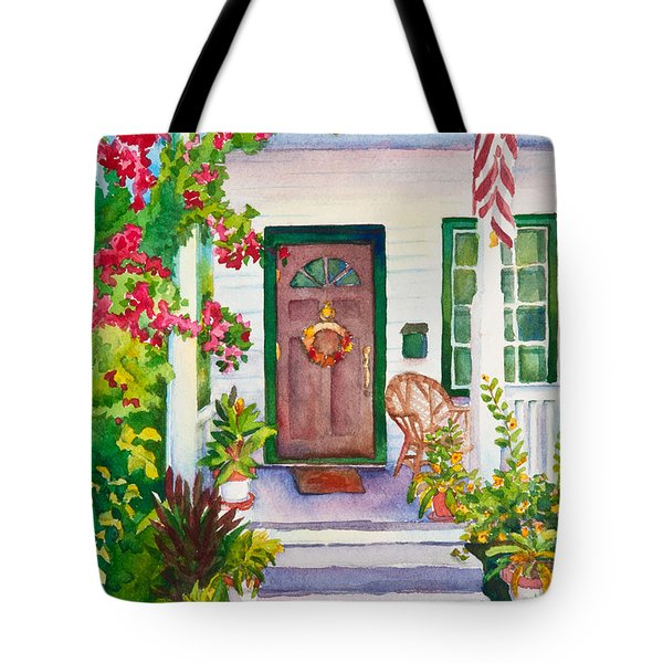 Welcome Home Tote Bag by Michelle Wiarda