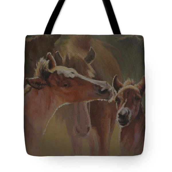 Welcome Party Tote Bag by Mia DeLode