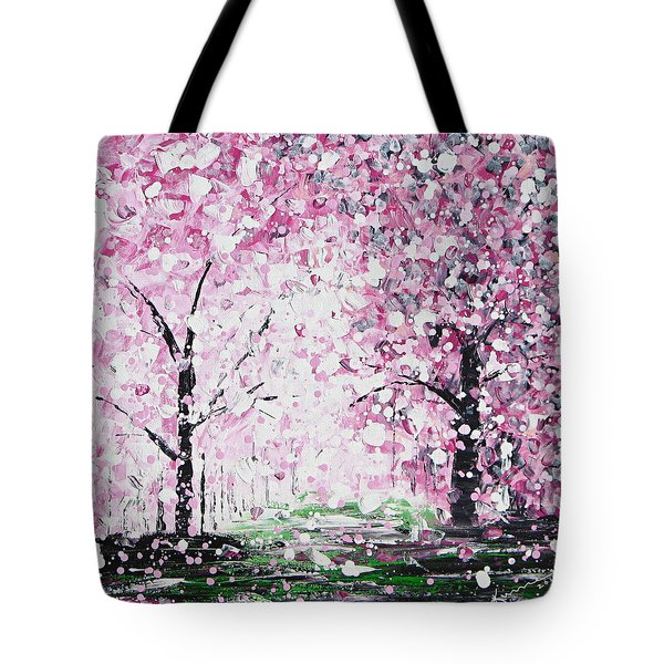 Welcome Spring Tote Bag by Kume Bryant