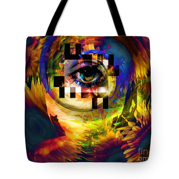 Welcome To 3rd Annex Tote Bag by Elizabeth McTaggart