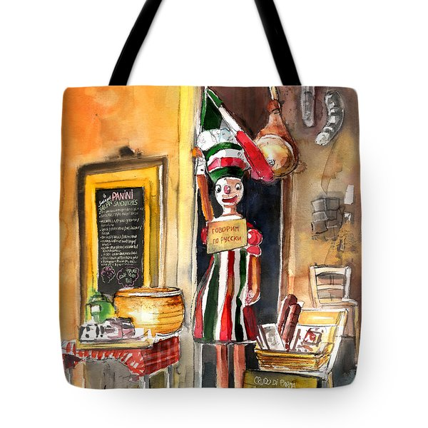 Welcome To Italy 07 Tote Bag by Miki De Goodaboom