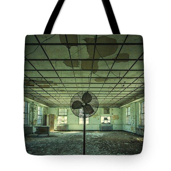 Welcome to the Asylum Tote Bag by Evelina Kremsdorf