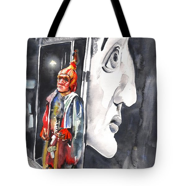 Welcome To The Czech Republic 01 Tote Bag by Miki De Goodaboom