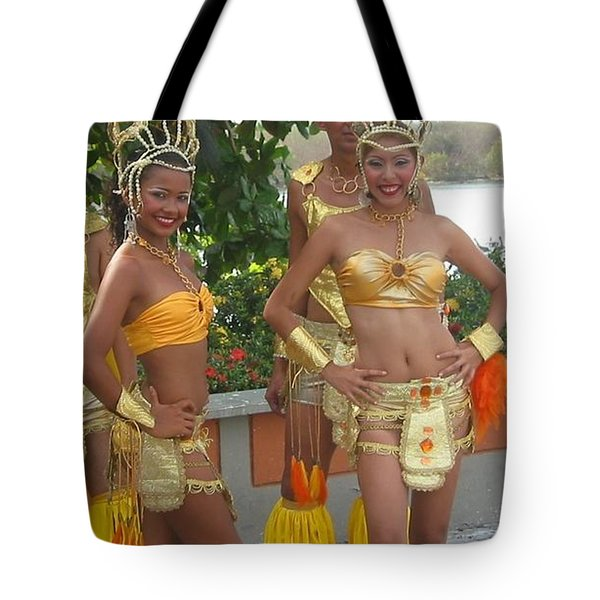 Welcome To The Islands Tote Bag by Ann Johndro-Collins