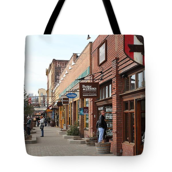 Welcome To Truckee California 5D27445 Tote Bag by Wingsdomain Art and Photography