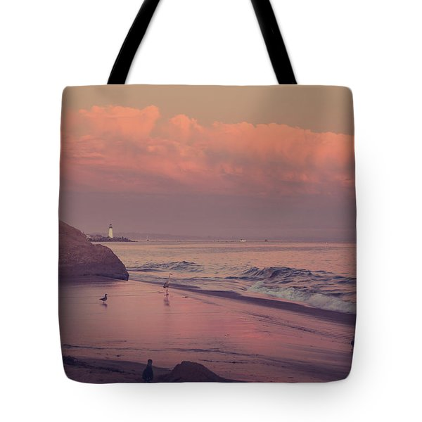 We'll Just Sit Here For a While Tote Bag by Laurie Search