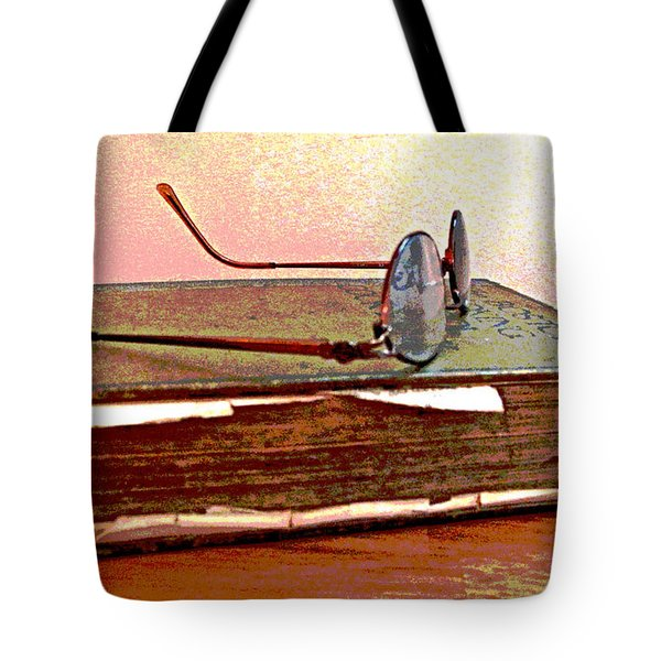 Well Read Tote Bag by Barbara McDevitt