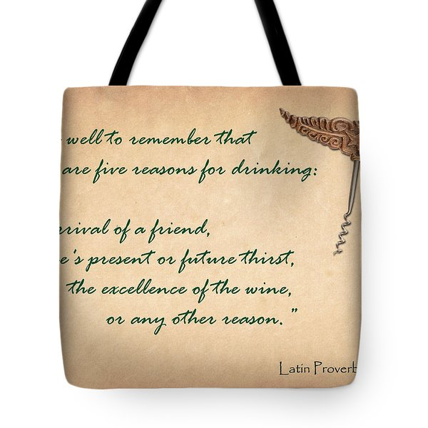 Well to Remember Tote Bag by Elaine Plesser
