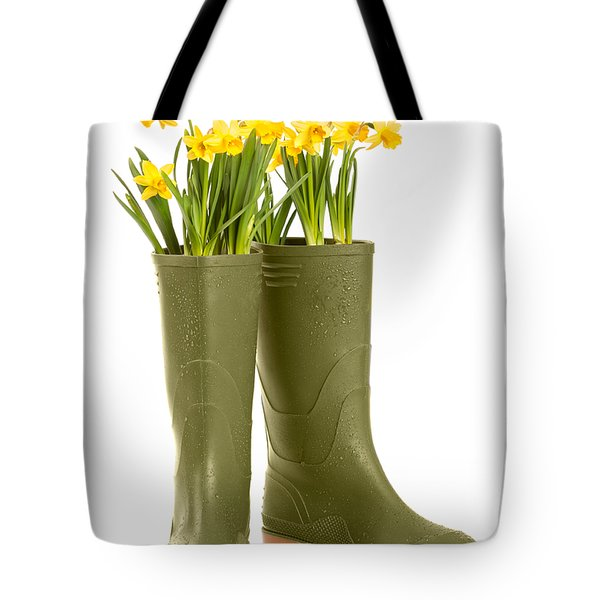 Wellington Boots Tote Bag by Amanda And Christopher Elwell