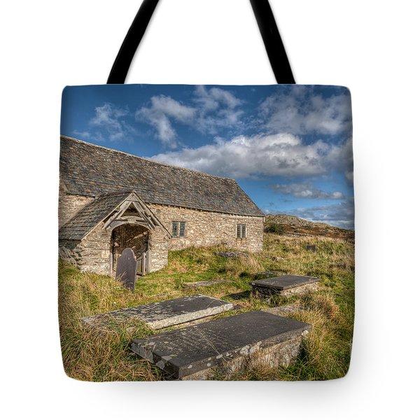 Welsh Church Tote Bag by Adrian Evans