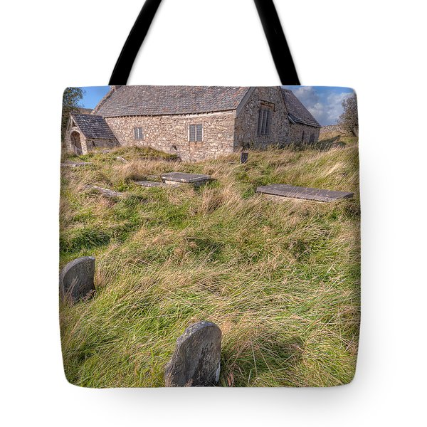 Welsh Tombs Tote Bag by Adrian Evans