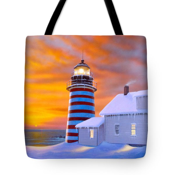 West Quoddy Tote Bag by MGL Studio - Chris Hiett